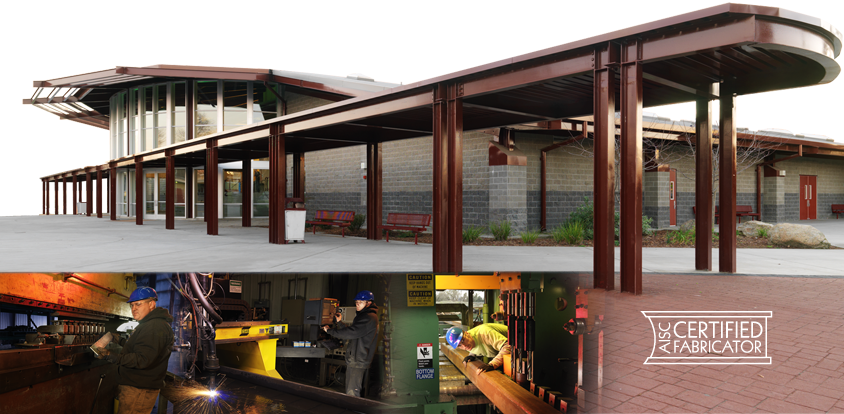 Metal Works is a multi-faceted steel fabrication, erection